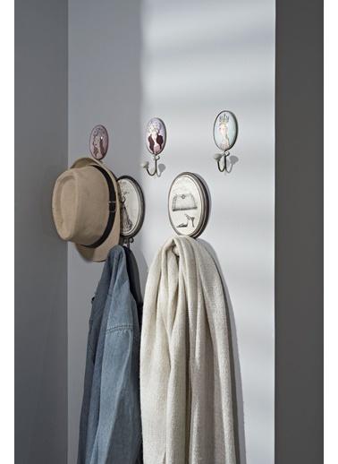 Warm Design Metal Askılık  Beyaz